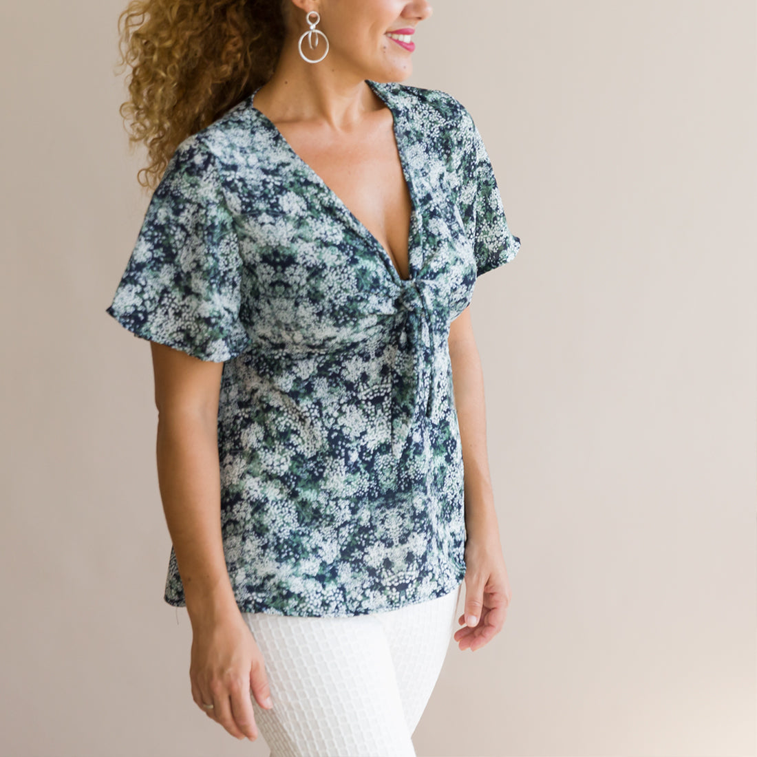 Blusa Parly Liberty Verde