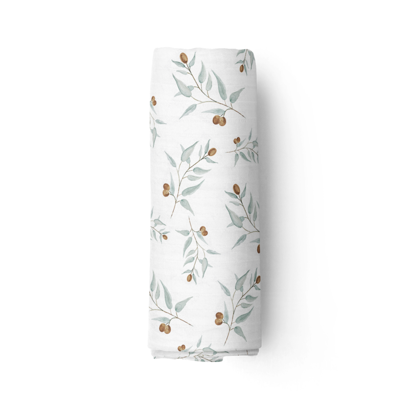 Piper Bug Bamboo Muslin Swaddle - RAY