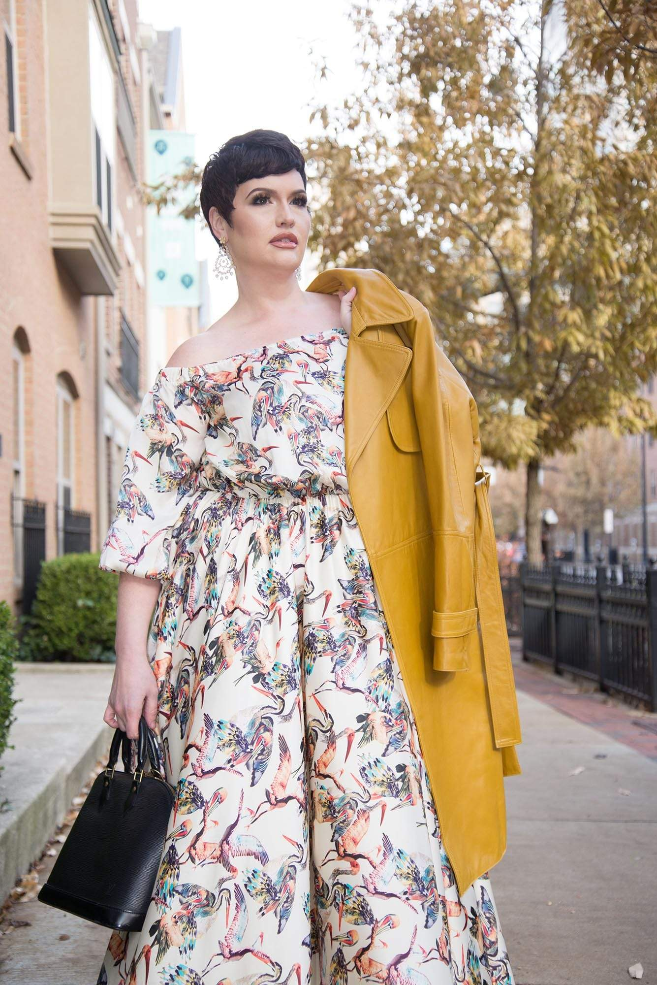 Crane Maxi Dress | Mayes NYC
