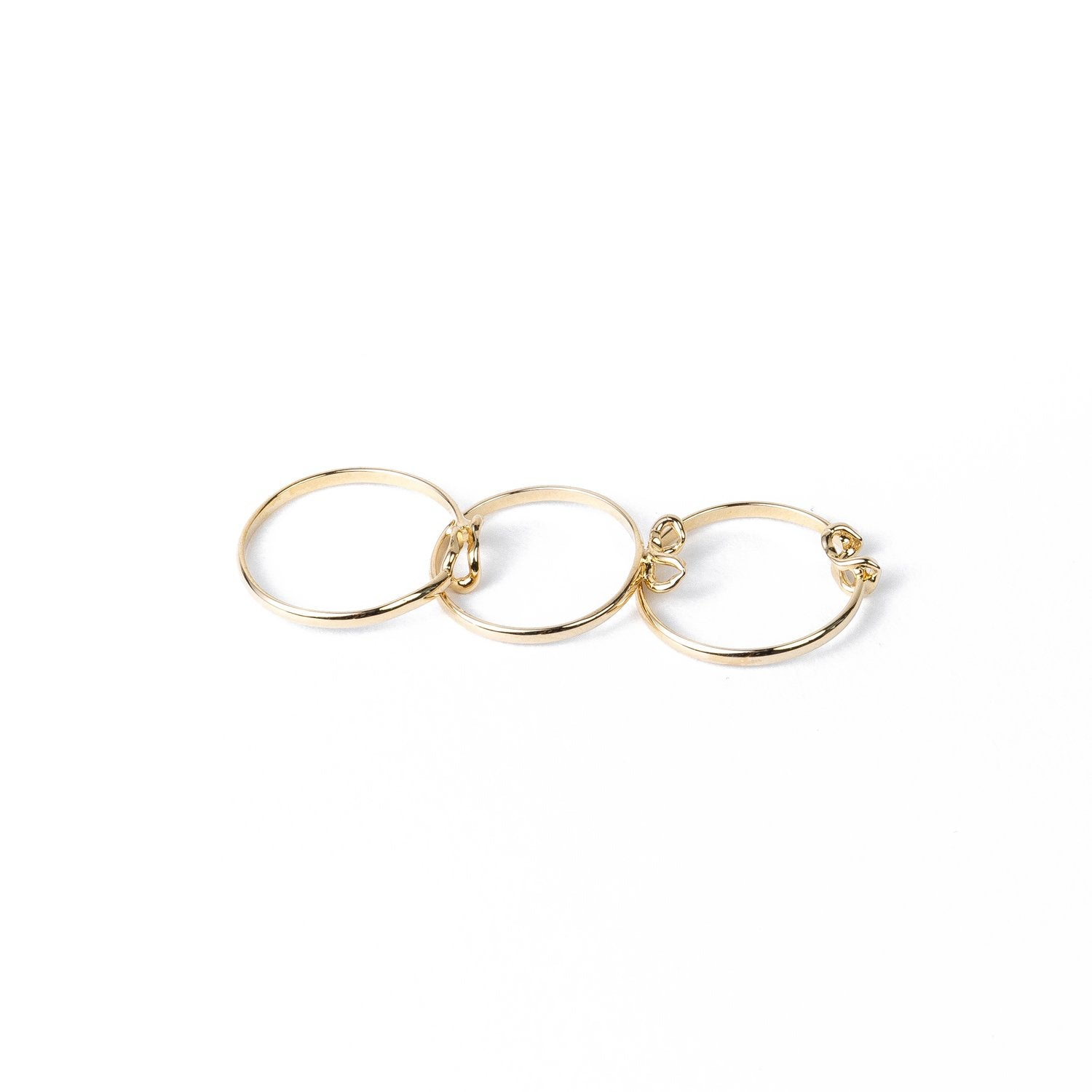 Willow Ring Style II in 14k Yellow Gold