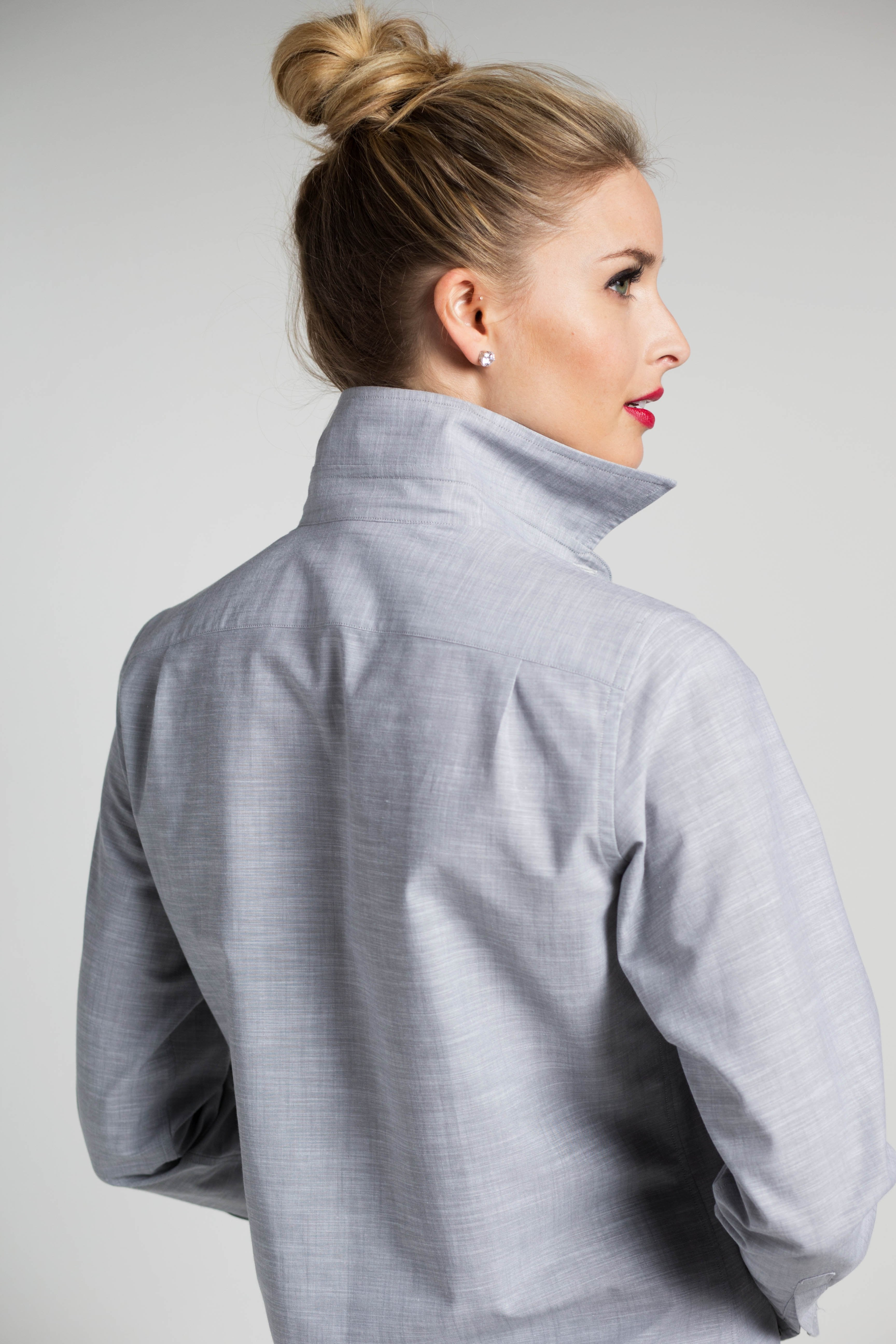 Weekend Shirt in Grey Expectations