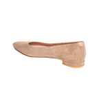 Load image into Gallery viewer, Tenacious Tan Suede / Bossy Beige Leather Flat