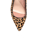 Load image into Gallery viewer, Fierce Leopard Haircalf Block Heel Pump