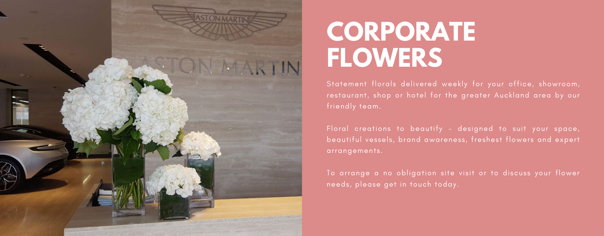 Corporate Flowers Auckland
