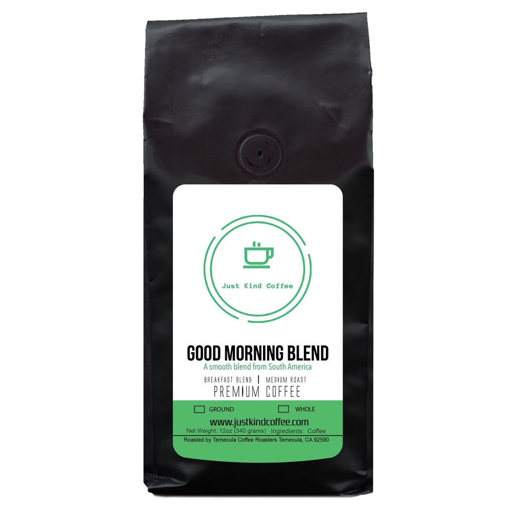 Good Morning Blend Just Kind Coffee