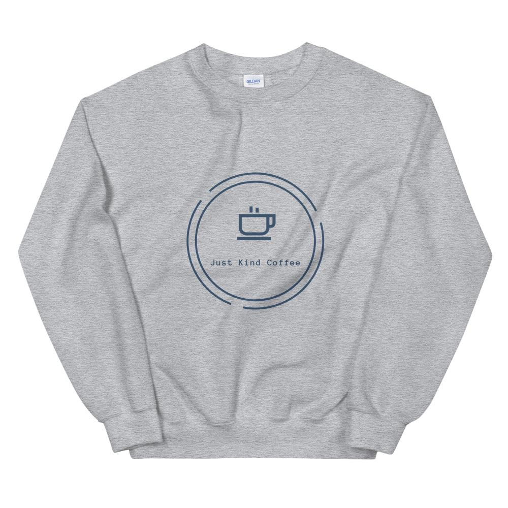 Just Kind Coffee - Crew Neck Sweatshirt Just Kind Coffee Sport Grey S