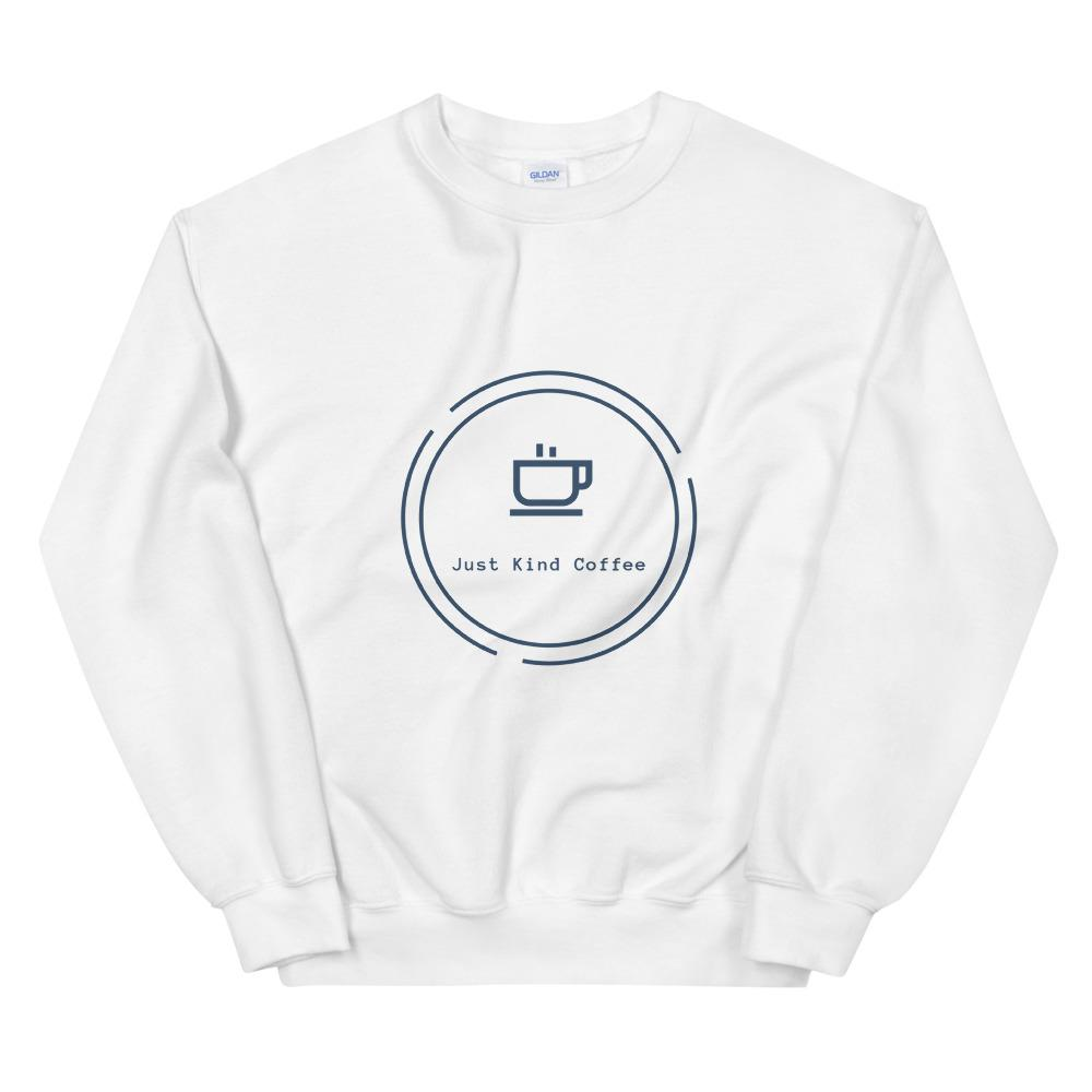 Just Kind Coffee - Crew Neck Sweatshirt Just Kind Coffee White S