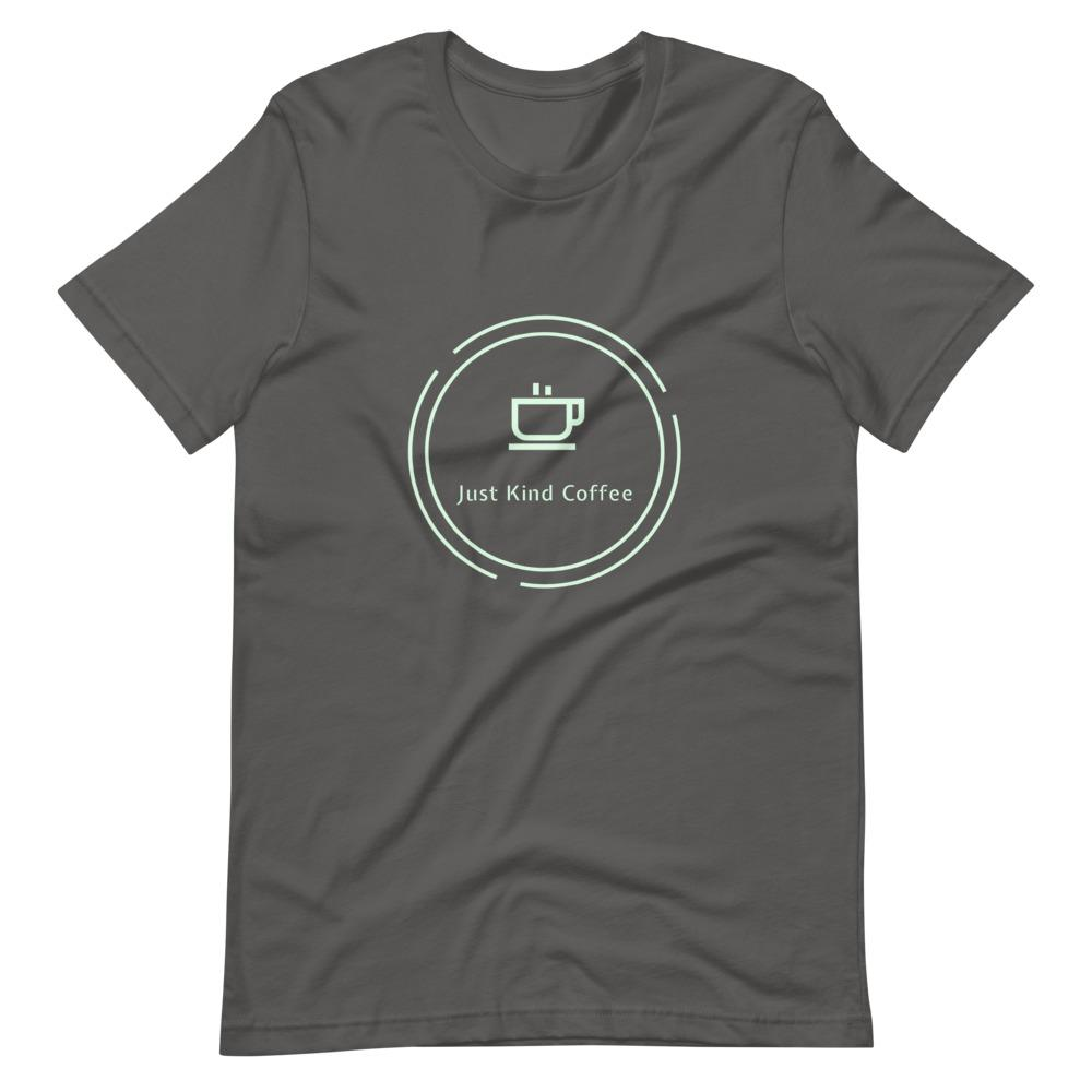 Just Kind Coffee T-Shirt Shirts Just Kind Coffee Asphalt S