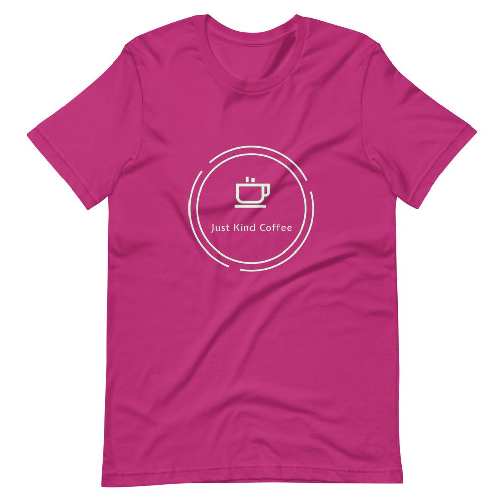 Just Kind Coffee T-Shirt Shirts Just Kind Coffee Berry S