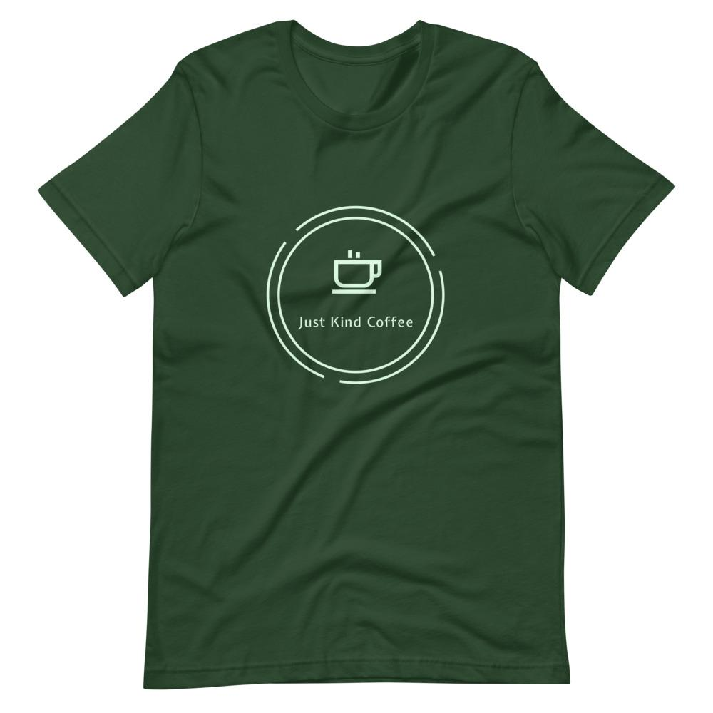 Just Kind Coffee T-Shirt Shirts Just Kind Coffee Forest S