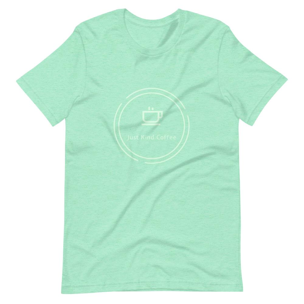 Just Kind Coffee T-Shirt Shirts Just Kind Coffee Heather Mint S