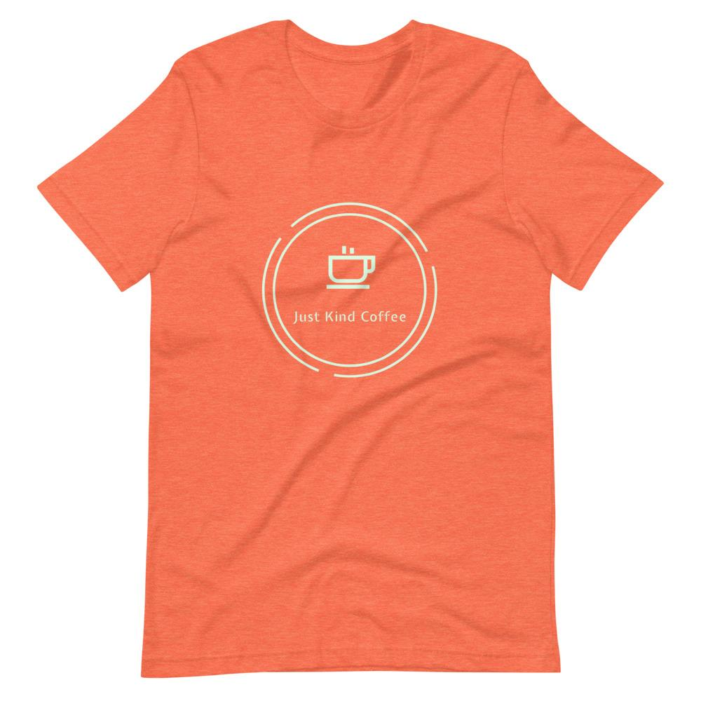 Just Kind Coffee T-Shirt Shirts Just Kind Coffee Heather Orange S