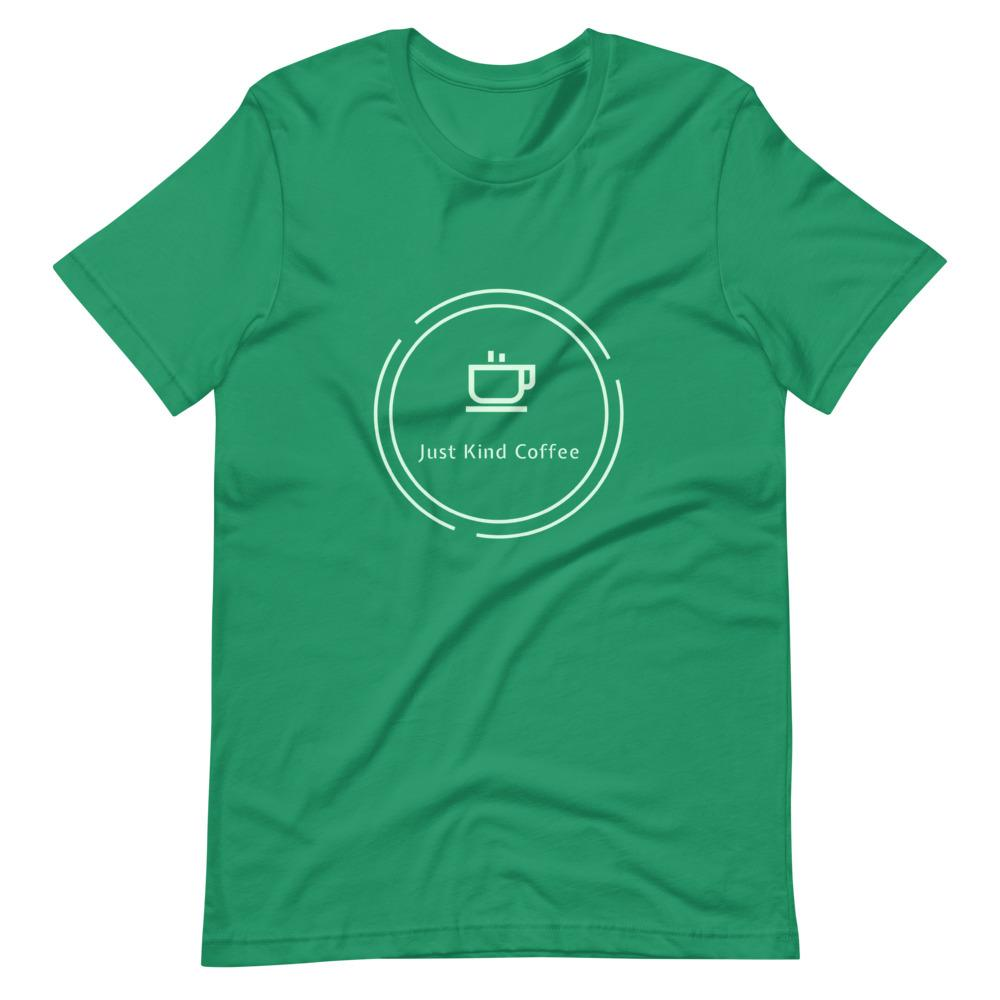 Just Kind Coffee T-Shirt Shirts Just Kind Coffee Kelly XS