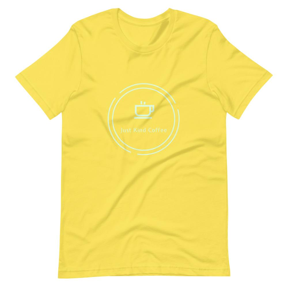 Just Kind Coffee T-Shirt Shirts Just Kind Coffee Yellow S