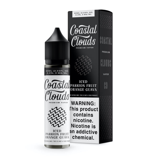 Coastal Clouds - Ice Passion Fruit Orange Guava
