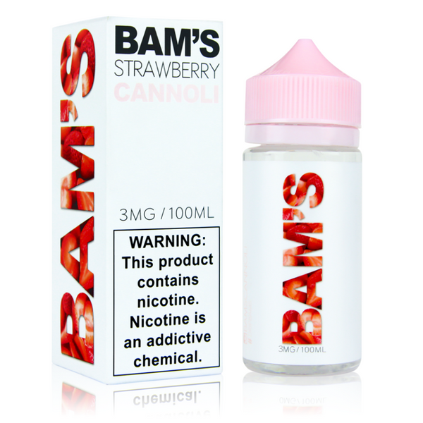 Bam's Cannoli - Strawberry Cannoli