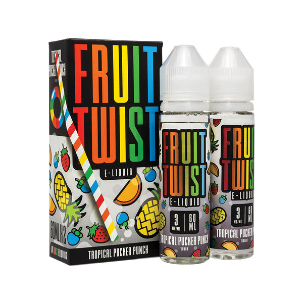 Twist Eliquids - Fruit Twist Tropical Pucker Punch