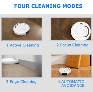 Robot Vacuum Cleaner 3-In-1
