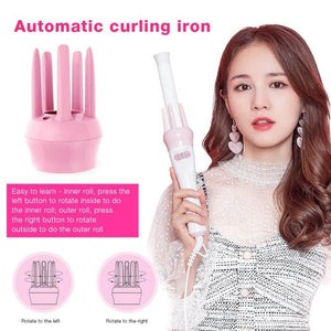 AUTOMATIC MAGIC HAND KOREAN HAIR CURLER