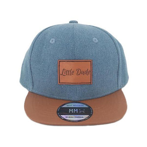 Mini Maxwell - Denim Little Dude Snapback