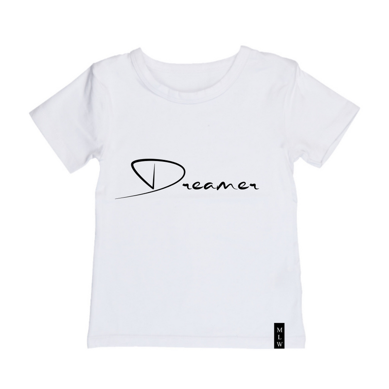MLW By Design - Dreamer Tee | Black or White