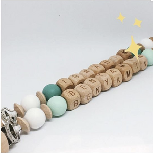Babydoo - Celeste Personalised Dummy Chain