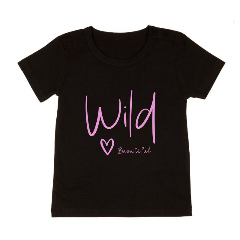 MLW By Design - Wild Beautiful Tee | Black or White