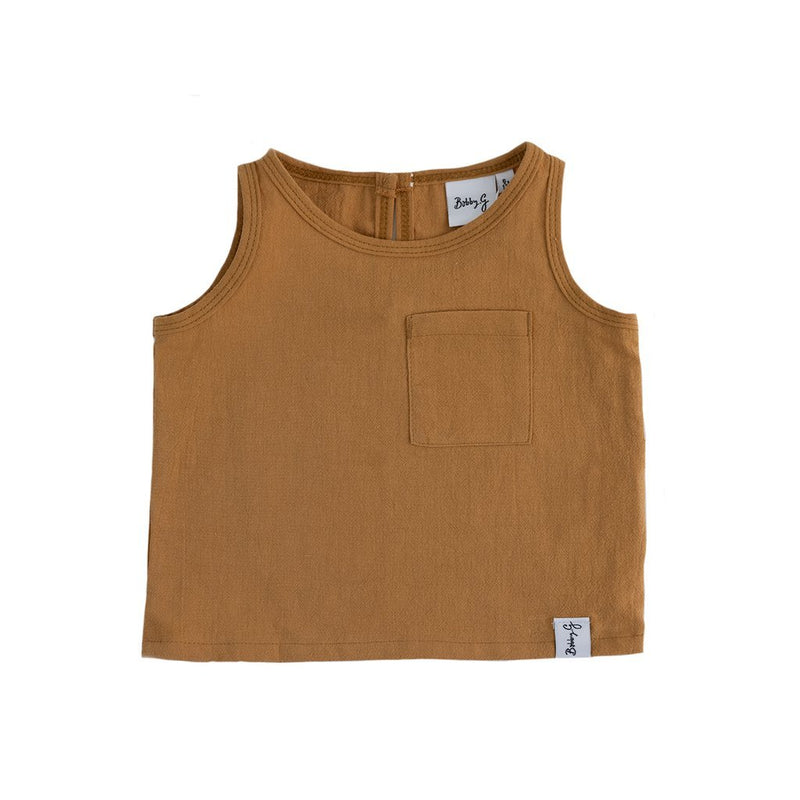 Bobby G Baby Wear - Dainty Linen Top - Copper
