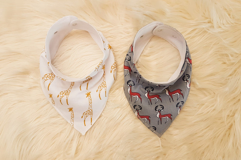 Hear Me Roar Kids - Wild | Bandana Bib Set