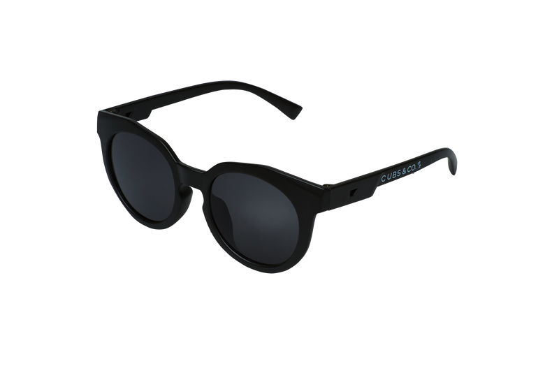 Cubs & Co - MATTE BLACK KIDS SUNGLASSES - UV400 protection