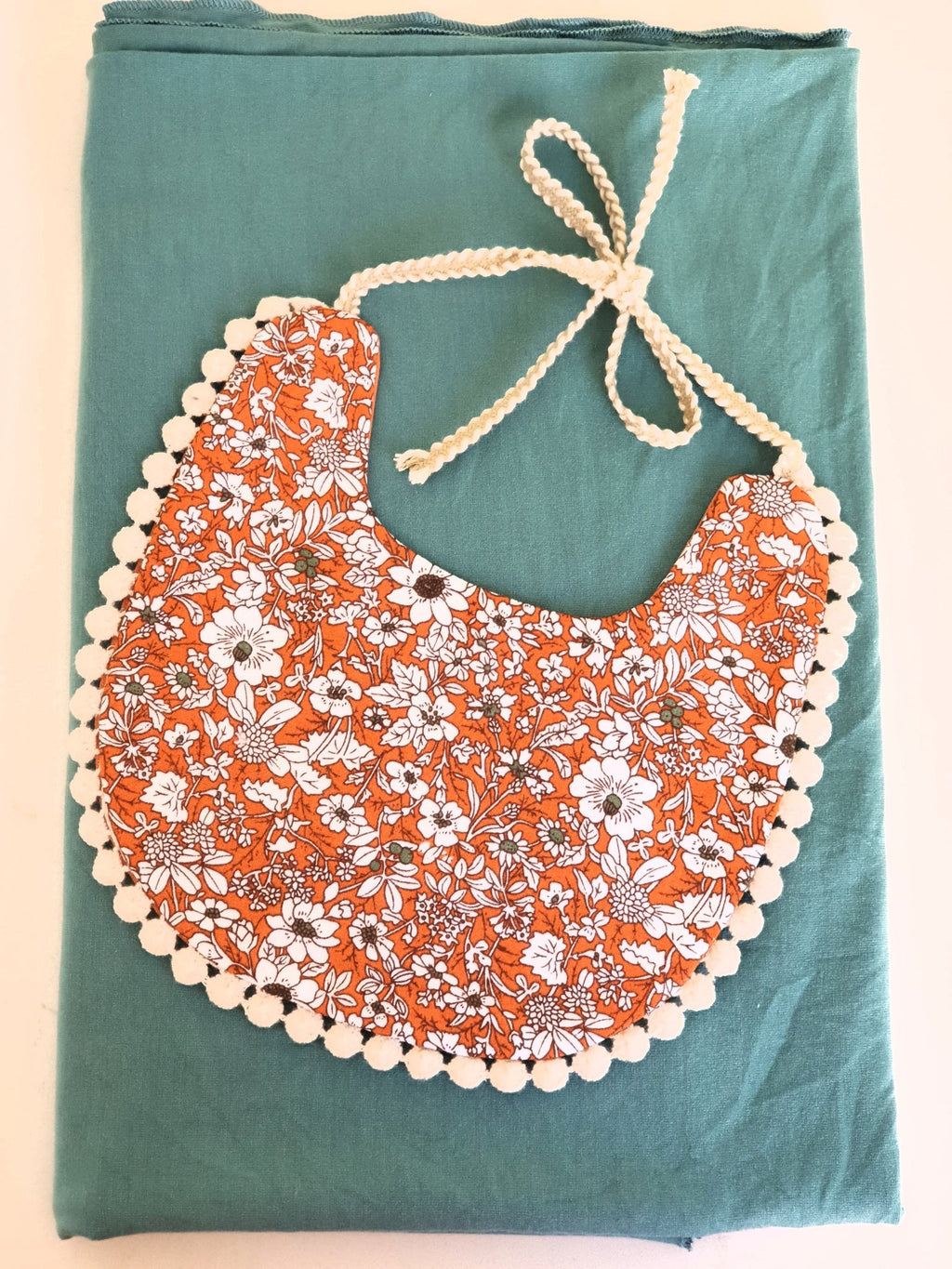 Elk Nursery - Swaddle and Bib set - CLEMENTINE