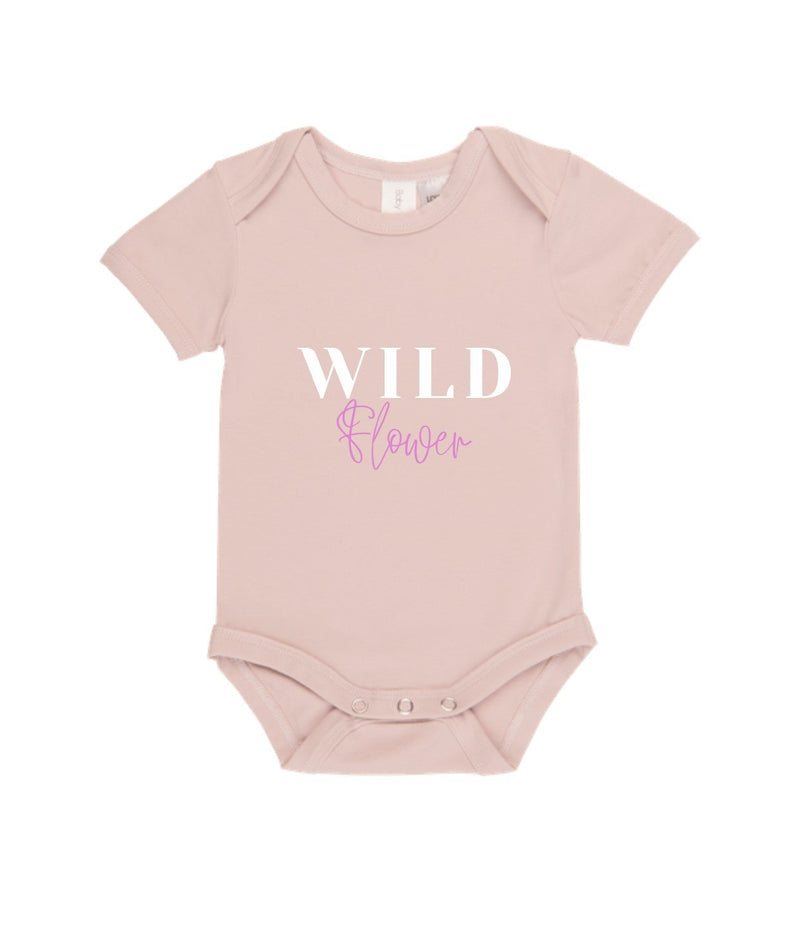 MLW By Design - Wild Flower Bodysuit | Pink