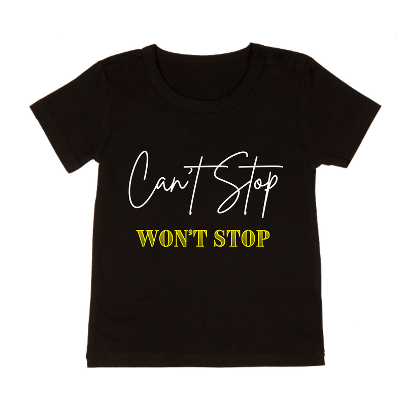 MLW By Design - Can't Stop Tee | Black or White
