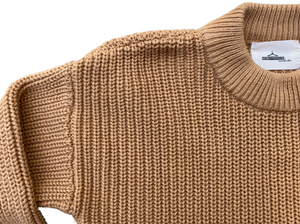 MLW By Design - Chunky Knit | Cinnamon