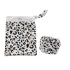 Anchor & Arrow - Reusable Swim Nappy & Wet Bag - Leopard