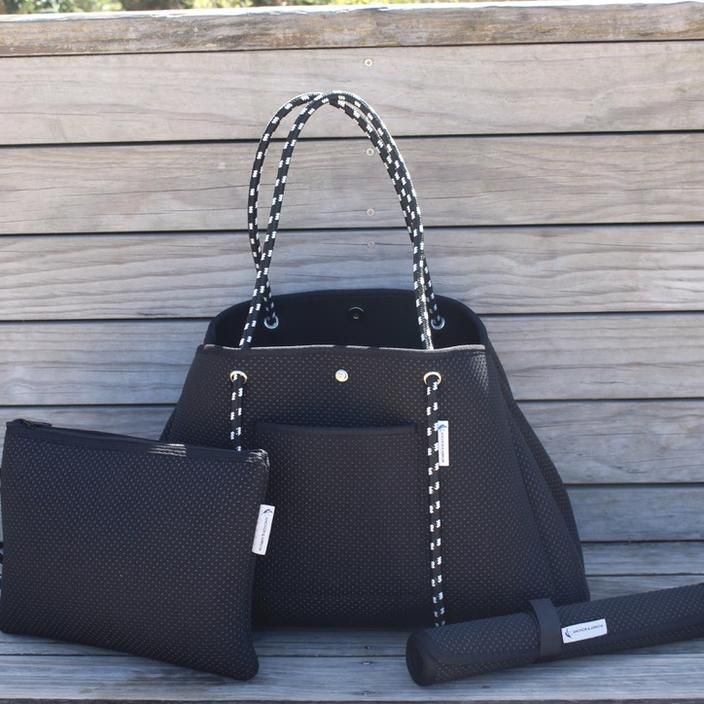Anchor & Arrow - Ultimate Mums Bag - Black Studs
