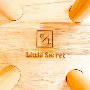 Little Secret Co - Solid Wood Kids Furniture Zoo Round Table