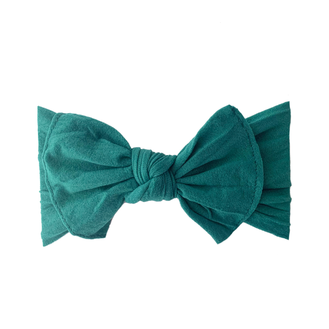 Sweet Tots Shop - Robin Bow - Forest Green