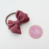 Sweet Tots Shop - Messy Bows in Nylon Band