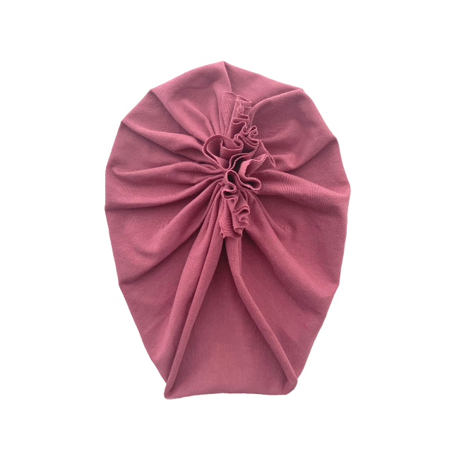 Sweet Tots Shop - CHLOE Turban - Old Rose