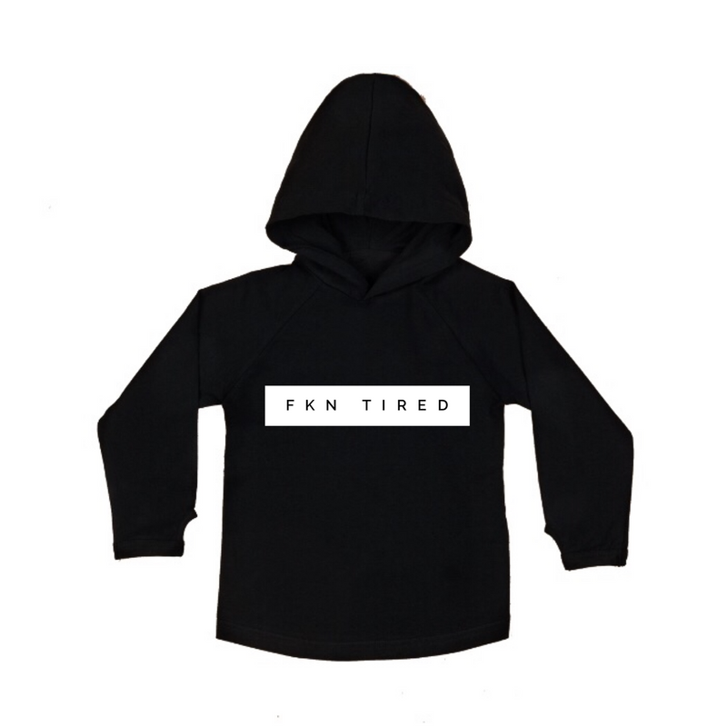 MLW By Design - FKN Tired Hoodie | Black or White