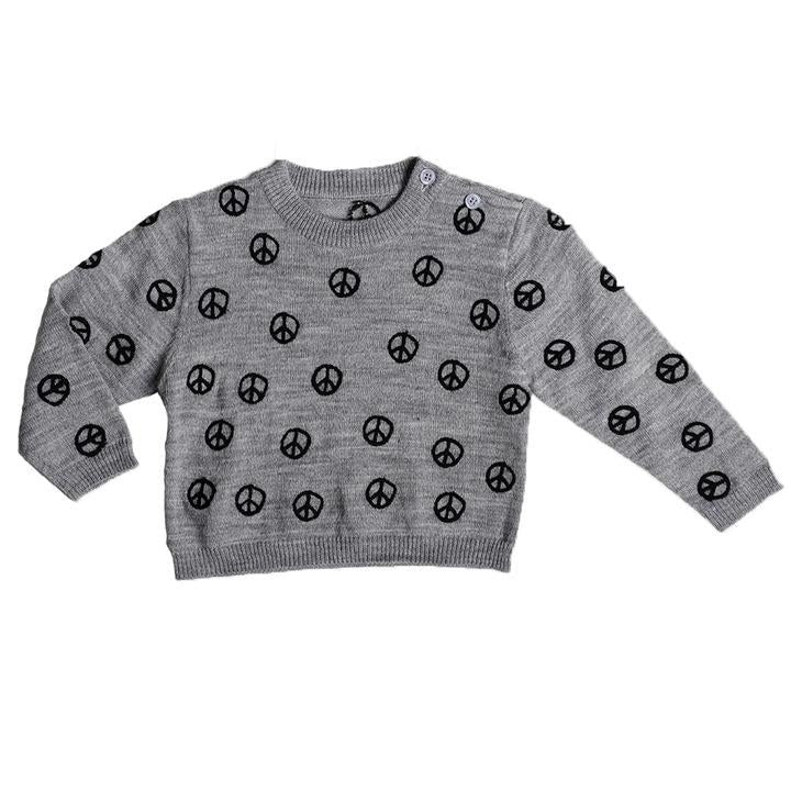 Anarkid - PEACE AOP KNIT SWEATER