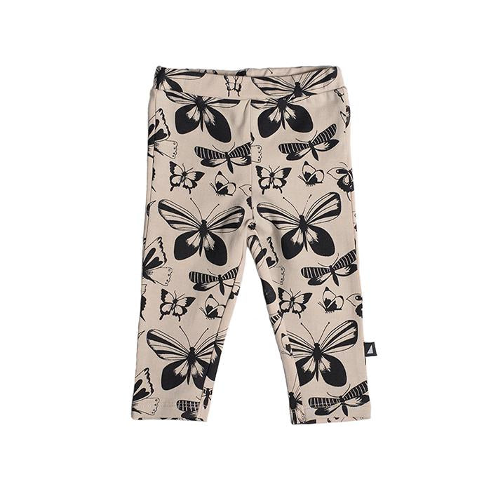 Anarkid - BUTTERFLY BEIGE AOP LEGGINGS