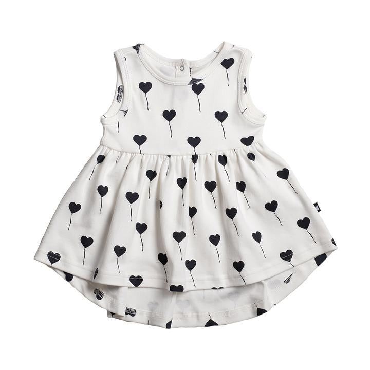 Anarkid - OFFWHITE BALLOON AOP SLEEVELESS DRESS