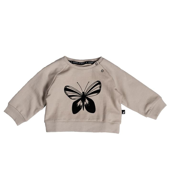 Anarkid - BEIGE BUTTERFLY SP SWEATER
