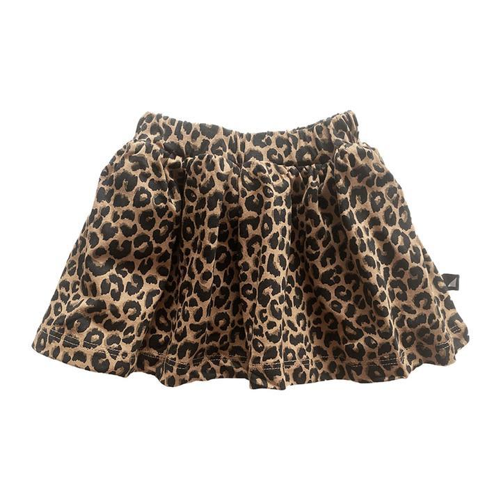Anarkid -  REVERSIBLE SKIRT (BROWN LEOPARD/BROWN CAMO)