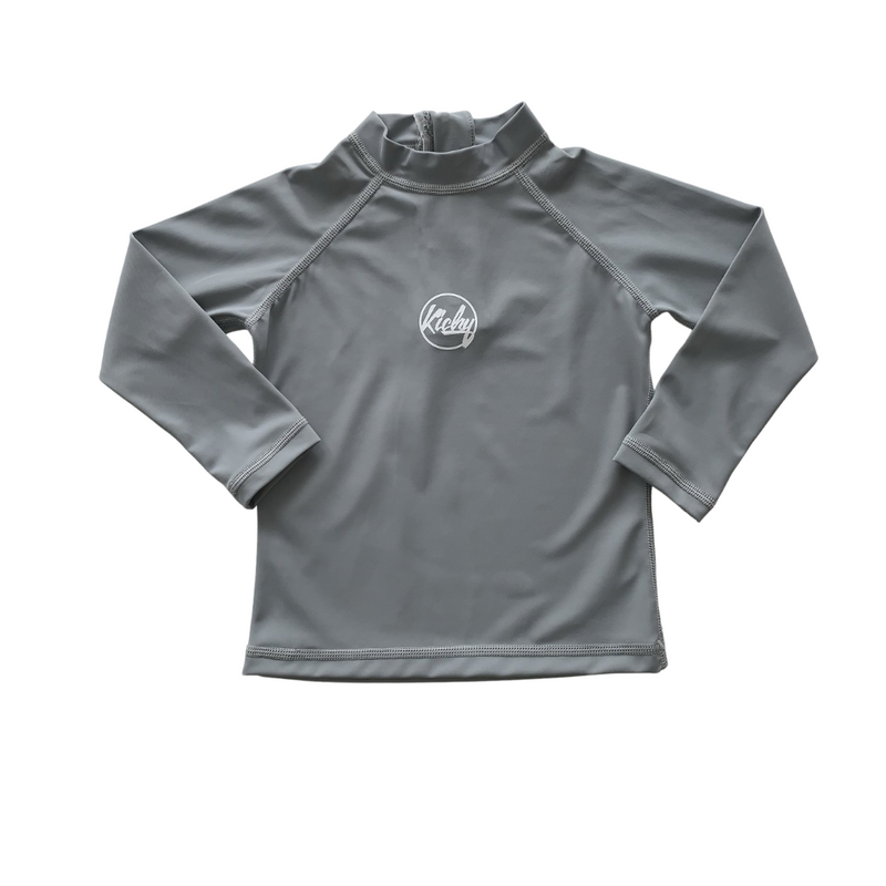 Kicky Swim - Rashguard Top | Storm Grey