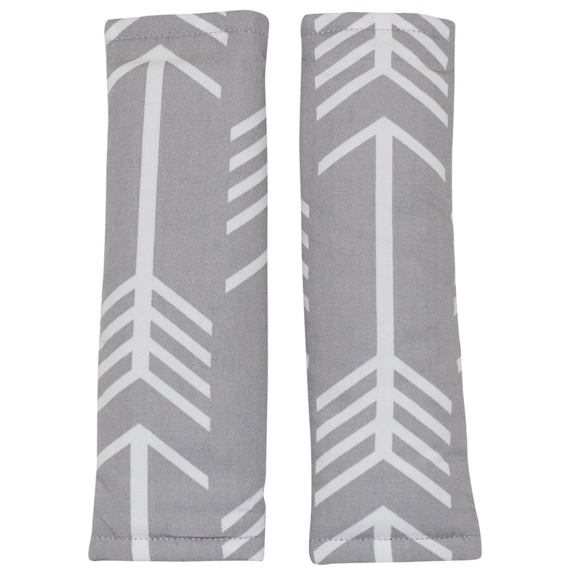 Bambella Designs - Harness Covers Grey Arrow