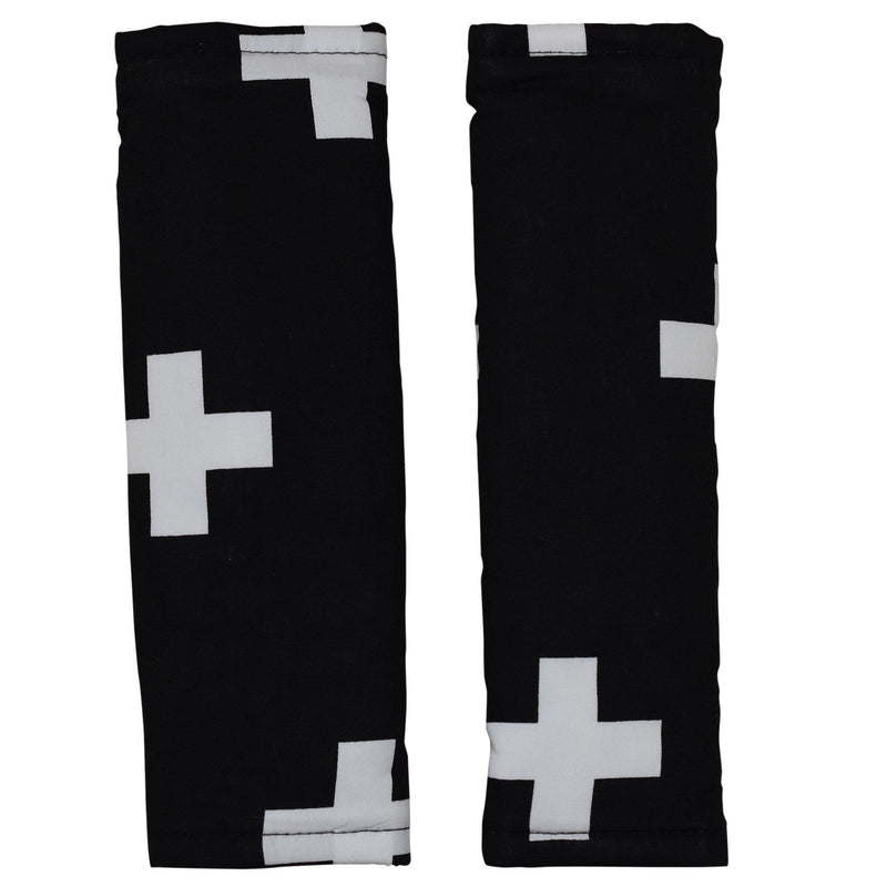 Bambella Designs - Harness Covers - Cross Black