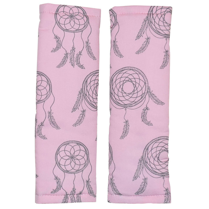 Bambella Designs - Harness Covers - Pink Dreamcatchers